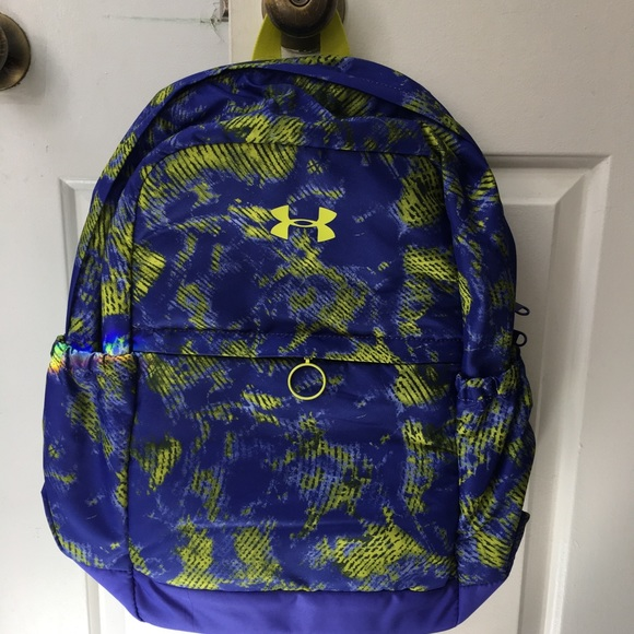 Under Armour Accessories   Girls Ua Logo Backpack Storm Bookbag ... 883ceebcab